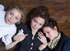 Juliet Rylance, Maggie Gyllenhaal, and Jessica Hecht