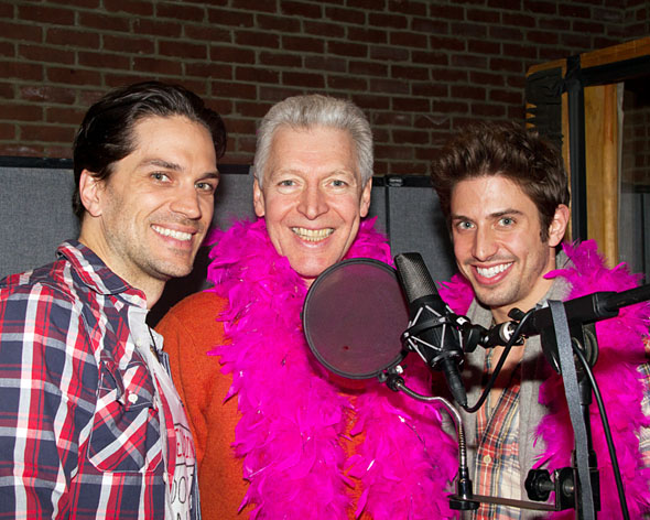 Will Swenson, Tony Sheldon, and Nick Adams