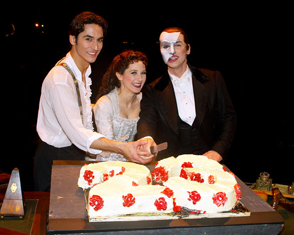 Sean McLaughlin, Sara Jean Ford, and Hugh Panaro