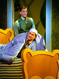 Mark Linn-Baker and Jay Goede inA Year With Frog and Toad