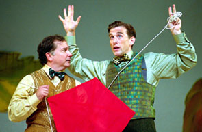Mark Linn-Baker and Jay Goede in A Year With Frog and Toad