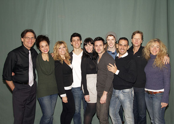 Left to Right: Bob Stillman, Alexandra Silber, Elizabeth Stanley, Robert Lenzi, Nikka Graff Lanzarone, Max von Essen,