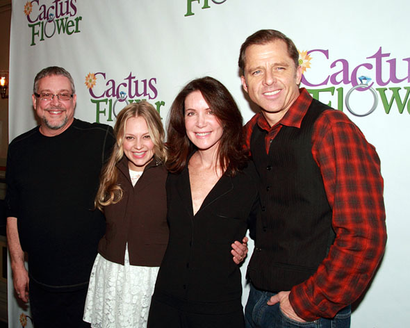 Michael Bush, Jenni Barber, Lois Robbins, and Maxwell Caulfield