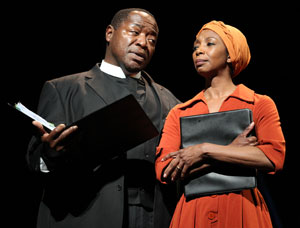 Chuck Cooper and Sharon Washington in Lost in the Stars