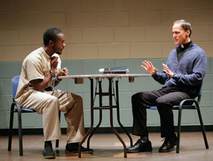 Chris Chalk and Neal Huff in When I Come to Die