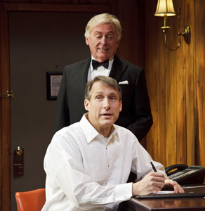 Daniel Davis and Gregg Edelman in Black Tie