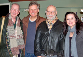 Jonathan Hogan, Ciaran O'Reilly, Dr. Oliver Sacks, Geraldine Hughes