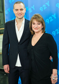 Jordan Roth and Patti LuPone
