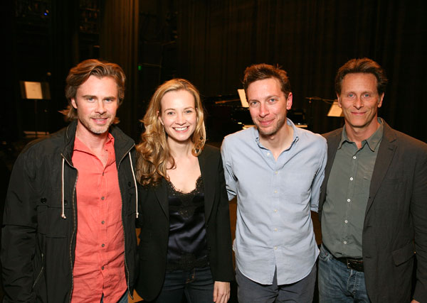 Sam Trammell, Bess Wohl, Michael Friedman and Steven Weber