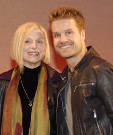 Roslyn Kind and Louis van Amstel