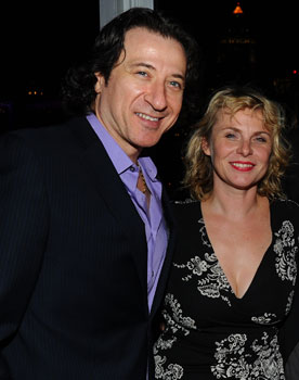 Federico Castelluccio and Angelica Torn