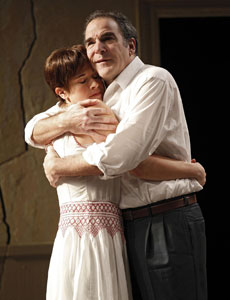Hannah Cabell and Mandy Patinkin