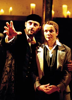 Make a wish!Mark Strong and Emily Watson in Twelfth Night