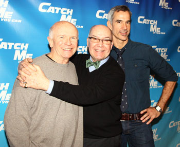 Terrence McNally, Jack O'Brien, and Jerry Mitchell