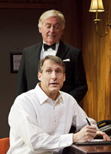 Daniel Davis & Gregg Edelman in Black Tie