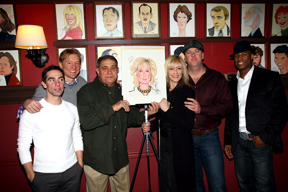 Keith Nobbs, Bill Dawes, Dan Lauria, Judith Light, Chris Sullivan, and Robert Christopher Riley