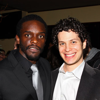 Chris Chalk and Thomas Kail