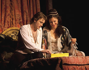 James Snyder and Jenny Powers in Dangerous Beauty