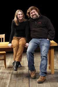 Rinne Groff and Oskar Eustis