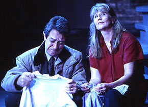 Larry Pine and Judith Ivey in The Women of Lockerbie