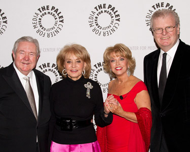 Frank A. Bennack, Jr , Barbara Walters, Pat Mitchell, and Howard Stringer
