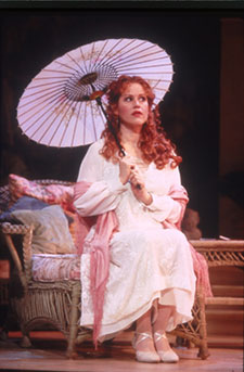 Molly Ringwald in Enchanted April(Photo © Carol Rosegg)