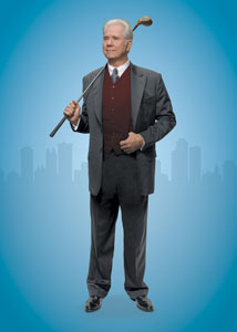 John Larroquette in a publicity shot for How to Succeed in Business... (© Chris Callis)