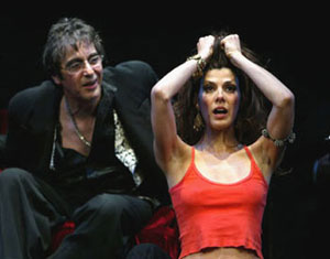 Al Pacino and Marisa Tomei in Salome(Photo © Joan Marcus)