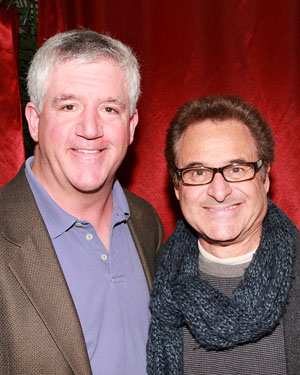 Gregory Jbara and Barry Pearl 
