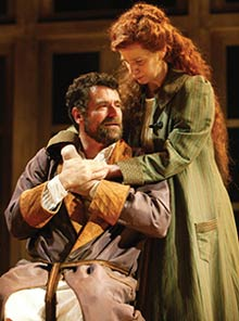 Steven Skybell and Amanda Plummerin Uncle Vanya(Photo © T.