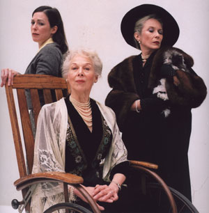 Patricia Randall, Peggy Cowles, and Susan Jeffriesin The Ladies of the Corridor