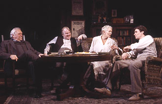 Brian Dennehy, Philip Seymour Hoffman, Vanessa Redgrave,and Robert Sean Leonard in Long Day's Journey Into Night(Photo © Joan Marcus)