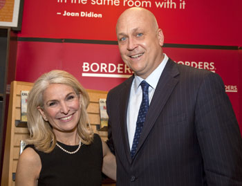 Catherine Russell and Cal Ripken