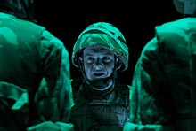 Cameron Barnes in Black Watch