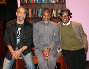 Charles Smith, Andre De Shields, and Chuck Smith