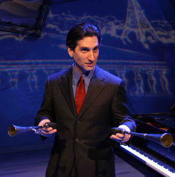 Hershey Felder in George Gershwin Alone