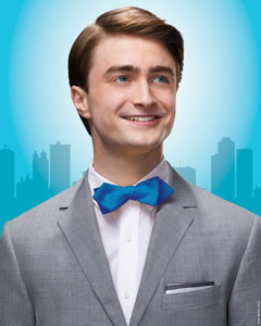Daniel Radcliffe in promo shot for How to Succeed... (© Matthias Clamer)