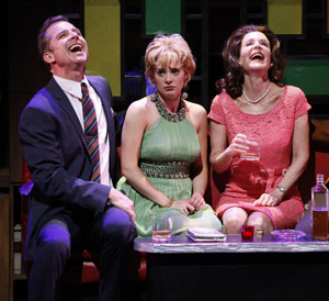 Maxwell Caulfield, Jenni Barber, and Lois Robbins