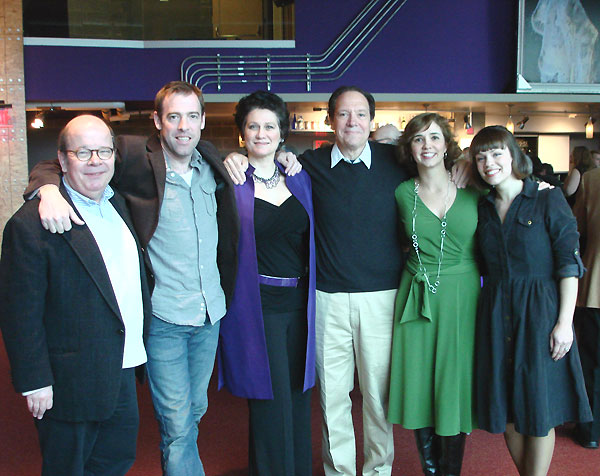 Hugh Nees, Ian Merrill Peakes, Valerie Leonard, Ken Ludwig, Holly Twyford and Erin Weaver