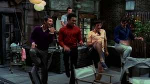 A scene from the film version of The Boys in the Band