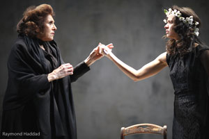 Lorraine Serabian and Evgeniya Radilova in Blood Wedding