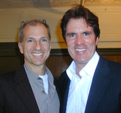 Rob Marshall (r) and John DeLuca(Photo © Michael Portantiere)