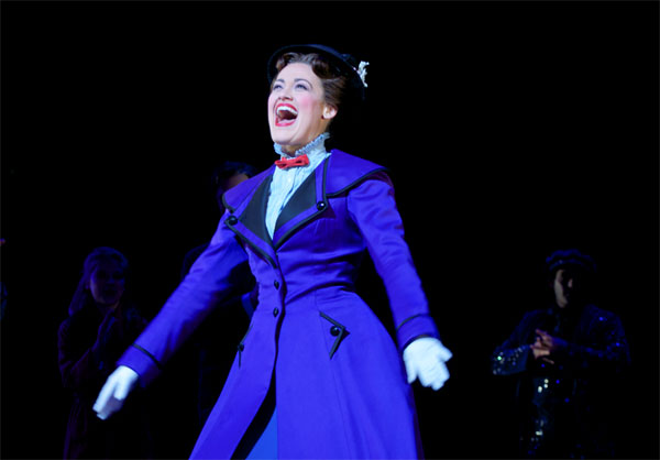 Ashley Brown in Mary Poppins