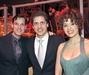 Hugh Panaro, Francisco J. Núñez, and Janet Dacal