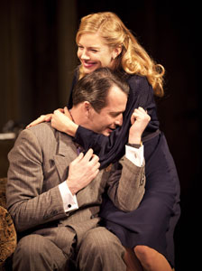 James Purefoy and Sienna Miller in Flare Path (© Johan Persson)