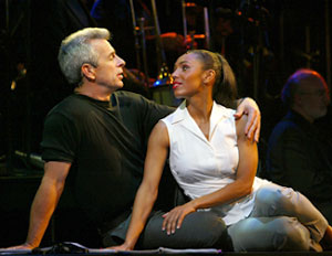 James Naughton and Maya Days in No Strings(Photo © Joan Marcus)