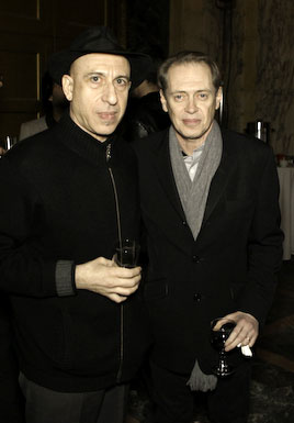 Elliott Sharp and Steve Buscemi(© Lori Bailey/ISSUE Project Room)