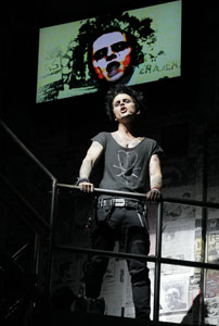 Billie Joe Armstrong in American Idiot
