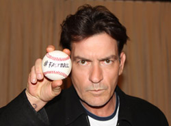 PR image for Charlie Sheen's