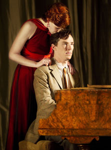 Nancy Carroll and Benedict Cumberbatch
